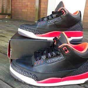 """Jordan 3 """"crimson"""""""